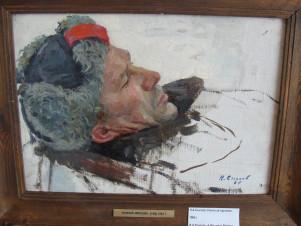 Раненый партизан (Этюд к картине «Мать»)