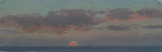 Закат в Средиземном море