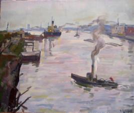 В ленинградском порту