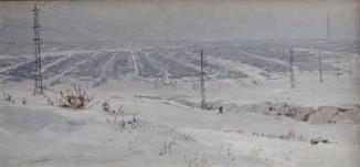 Эскизы и этюды к диораме «Сталинградская битва» 5