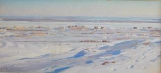 Эскизы и этюды к диораме «Сталинградская битва» 2