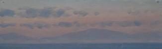 Гибралтар. Правый борт. После захода солнца