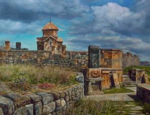 Армянская церковь Кармравор 7 век