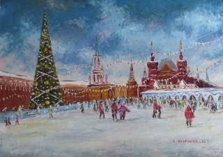 Ёлка на Красной площади