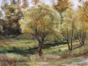 Осенний пейзаж в Троицком