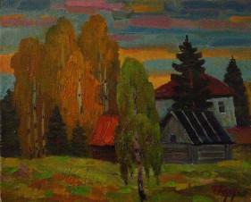 Осень в Крутово