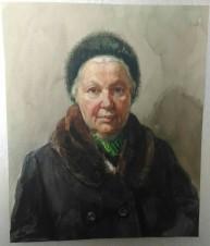 Портрет жены (Скорубской Н.В.)