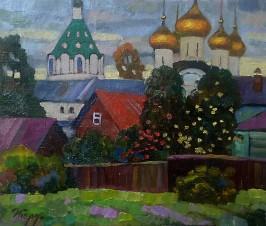 Дворик в Костроме