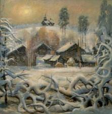 Зима в Маньге
