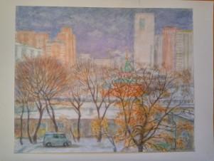 Москва, март 2004