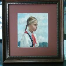 Портрет пионерки Ани