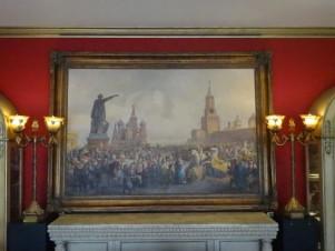 «Коронационные торжества на Красной площади» копия работы Тимма В.Ф.