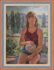 «Девушка с мячом»