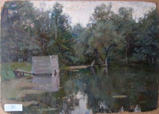 Купальня, усадьба Л.Толстого