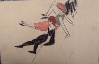 В цирке (из блокнота зарисовок)