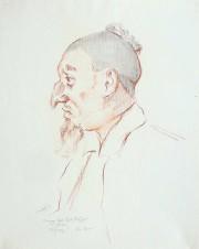 Портрет Заслуженного артиста В.А. Рябцева в балете А. Адана «Корсар». 1925 г