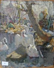Белые лебеди. Москва