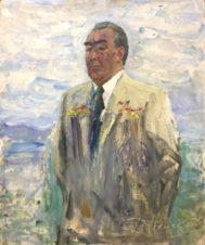 Портрет Л.И. Брежнева