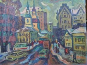 Москва. Новобасманная. 1964