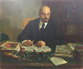 Ленин в рабочем кабинете