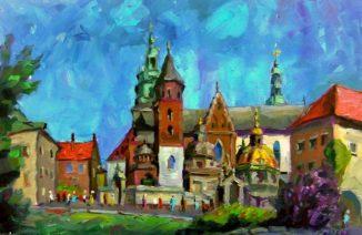 Кафедральный собор Станислава и Вацлава в замке Вавель в Кракове