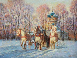 Чудо — русская зима!
