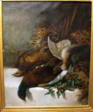 Натюрморт с  фазаном и вальдшнепом