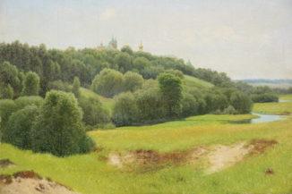 Вид Саввинского монастыря