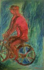 Красные велосипедисты