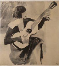 Гитаристка