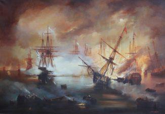 Ночная битва на море