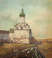 Вид на Ферапонтов монастырь