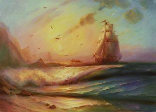 «У Крымских берегов»