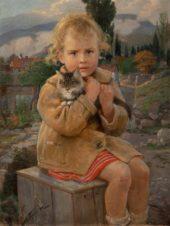 Ганночка (Девочка с котенком)
