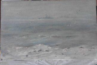 Дозор (эскиз к картине «Северные границы»)