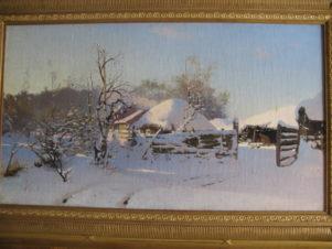 Зимняя сцена