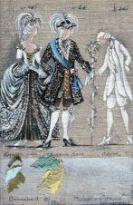Эскиз костюма к опере П.И.Чайковского «Пиковая дама»
