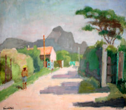 Дорога в Сен-Реми. Провансальский пейзаж