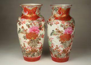 Парные вазы, Япония