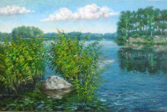 Солнечно на озере