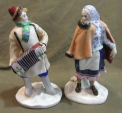 Гармонист и Плясунья