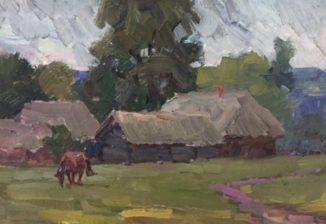 Одинокая лошадь (цикл «Русская деревня»)
