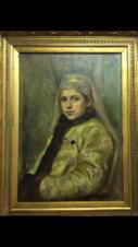 Девушка в костюме боярышни