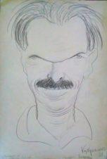 Портрет художника С.И. Лобанова