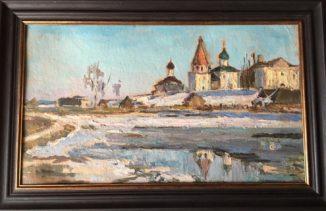 Церкви на берегу озера