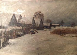 Зимняя Ладога