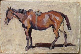 Этюд лошади