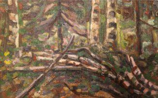 Этюд в лесу