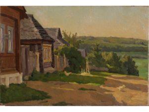 Деревня под Москвой