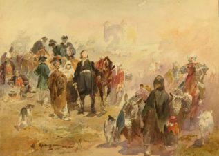 Петр I. в г. Сороках. 1711г.